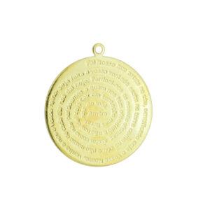 Medalha Pai Nosso 1